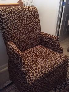 Bassett Leopard Chair $325